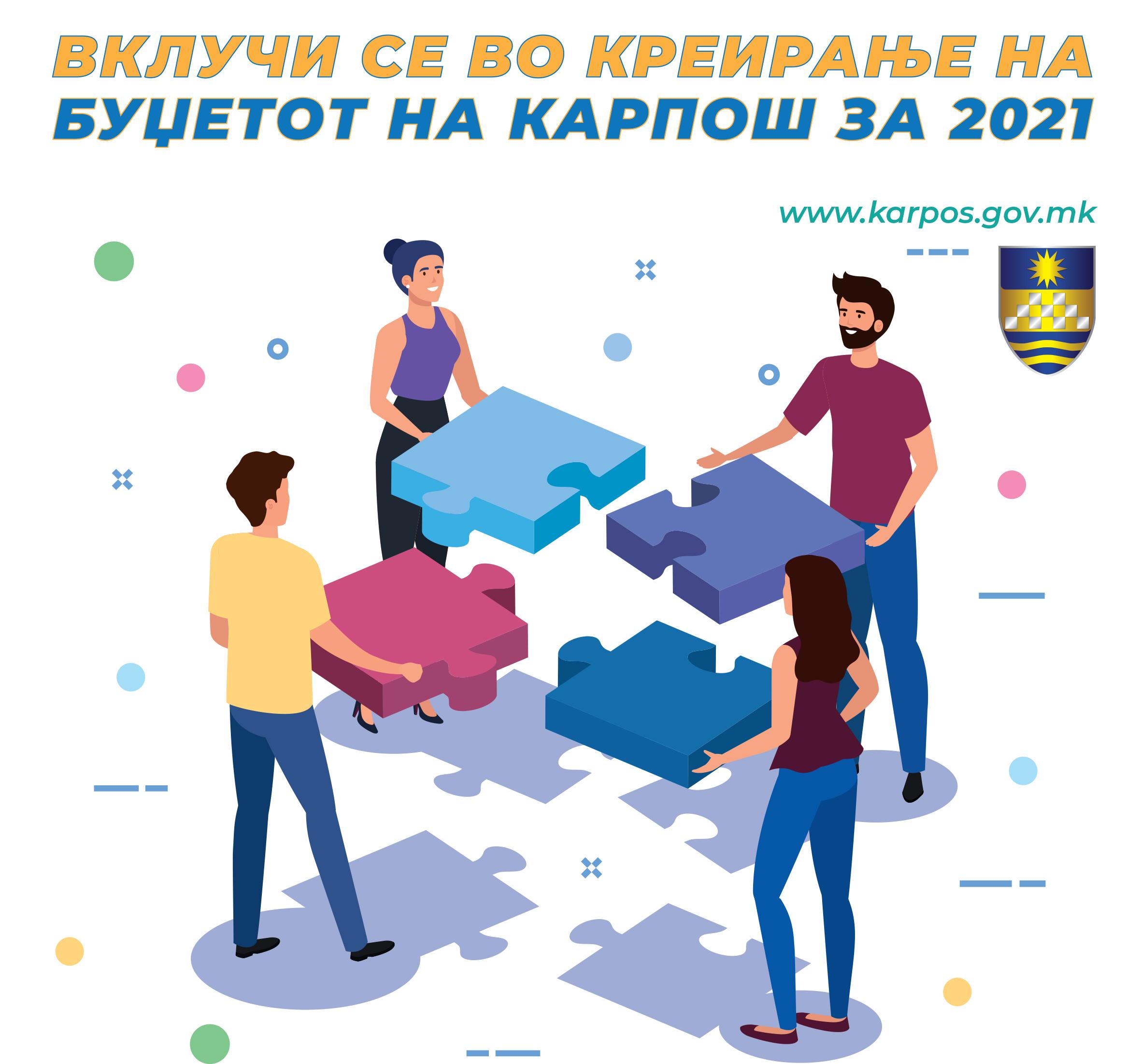 Буџет на Карпош 2021